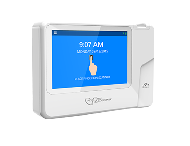 Easy Clocking Fingerprint Clock Xenio 500