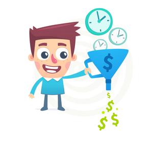 EasyClocking Time & Attendance Software Losing Money Graphic